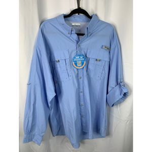New Columbia XL vented button down shirt
